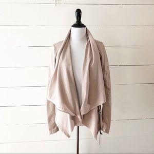 Blank NYC Jackets & Coats - Blank NYC Vegan Faux Leather Asymmetrical Jacket